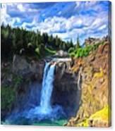 P G Landscape Canvas Print