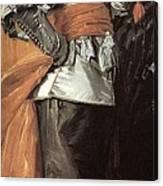 43meagr3 Frans Hals Canvas Print