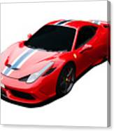 458 Speciale Canvas Print