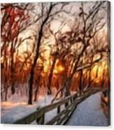 Landscape Oil Painting Canvas Print