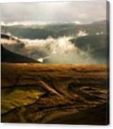 J H Landscape Canvas Print