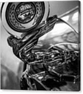 47 Triumph Roadster Canvas Print