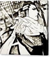 Bleach Canvas Print
