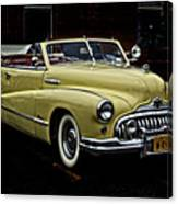 48 Buick Ragtop Canvas Print