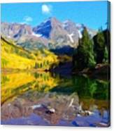 D J Landscape Canvas Print