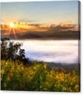 Oil Canvas Landscape Canvas Print
