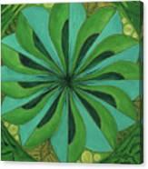 4th Mandala - Heart Chakra Canvas Print
