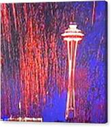 4th Space Needle Canvas Print