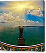 4x1 Bahia Honda Bridge Panorama Canvas Print