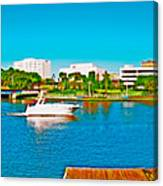 4x1 Downtown Tampa Panorama Canvas Print