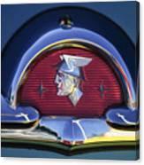 1953 Mercury Monterey Emblem Canvas Print