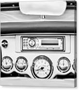 1954 Chevrolet Corvette Dashboard Canvas Print