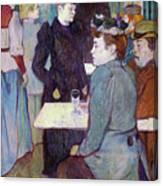A Corner Of The Moulin De La Galette Canvas Print
