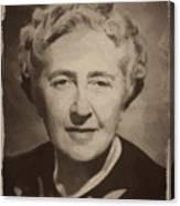 Agatha Christie 2 Canvas Print
