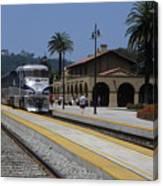 Sheldon Coopers Favorite Train Canvas Print