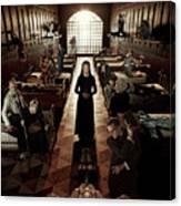American Horror Story Asylum 2012 Canvas Print