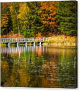 Autumn Season In Killarney Canvas Print