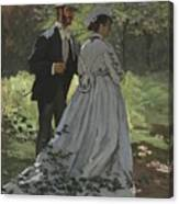 Bazille And Camille Canvas Print