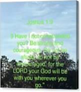 Bible Verse  Canvas Print