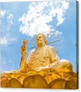 Big Golden Buddha Canvas Print