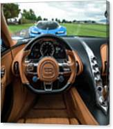 Bugatti Chiron And Vision Gt Canvas Print