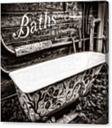 5 Cent Bath Canvas Print