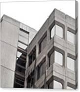 Concrete Building Canvas Print