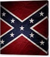Confederate Flag 8 Canvas Print