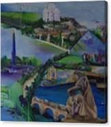 5 Days In Paris Canvas Print