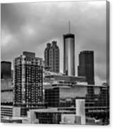 Downtown Atlanta, Georgia Usa Skyline Canvas Print