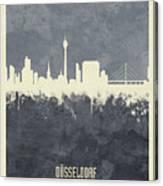 Dusseldorf Germany Skyline Canvas Print