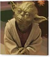 Episode 2 Star Wars Poster Canvas Print