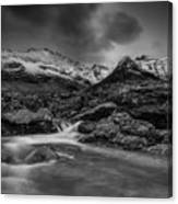 Fairy Pools Of River Brittle Canvas Print