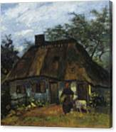 Farmhouse In Nuenen Canvas Print