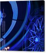 Ferris Wheel In Motion Canvas Print
