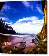 Fisheye Camera Canvas Print