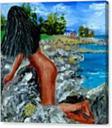 Girl Nude Canvas Print
