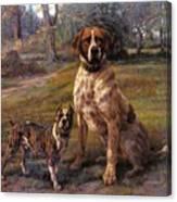 Good Friends Edmund Henry Osthaus Canvas Print