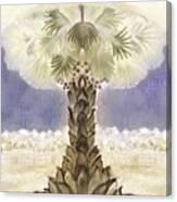 Jerusalem- Tryptich Part  2 Canvas Print
