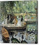 La Grenouillere Canvas Print