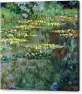 Le Bassin Des Nympheas Canvas Print