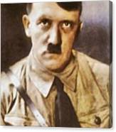 Leaders Of Wwii, Adolf Hitler Canvas Print