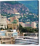 Monte Carlo Cityscape Canvas Print