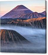 Mount Bromo - Java Canvas Print