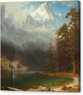 Mount Corcoran Canvas Print