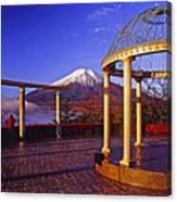 Mount Fuji In Autumn Canvas Print