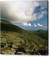 Mount Washington - White Mountains New Hampshire Usa Canvas Print
