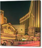 November 2017, Las Vegas Nevada - Architecture And Buildings At  Canvas Print