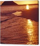 Oahu, Lanikai Beach Canvas Print