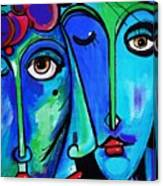 Picasso By Nora Canvas Print